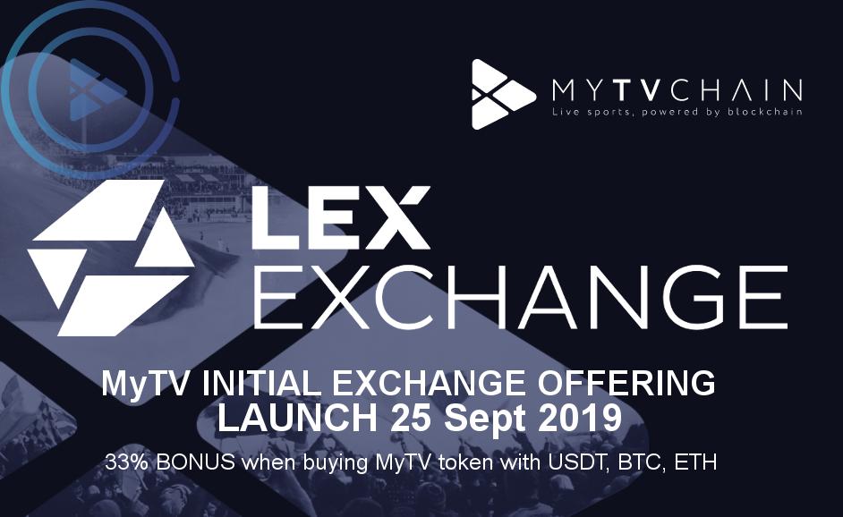 MyTVchain_MEO_launch_Lex_Exchange